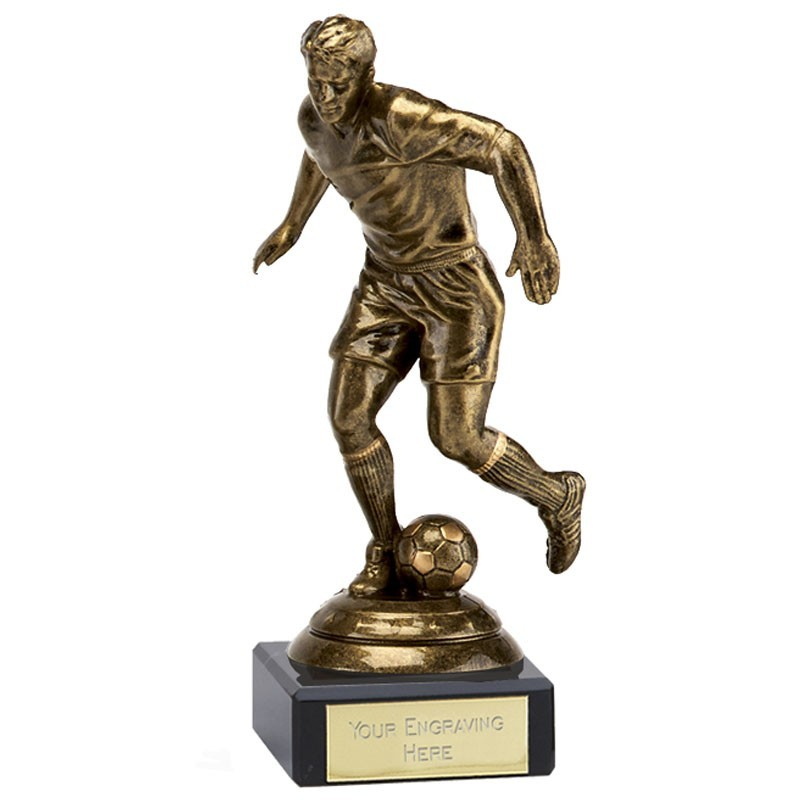 Icon Footballer In Gold