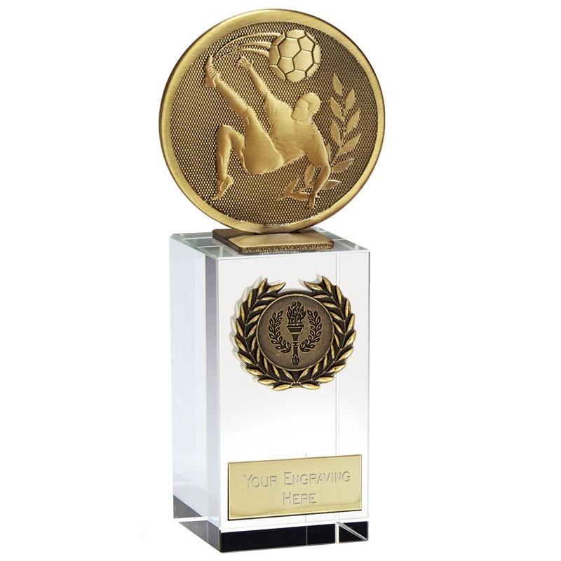 15.37cm Global  Football Trophy