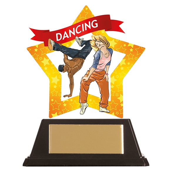 Mini-Star Street Dance Acrylic Plaque 100mm
