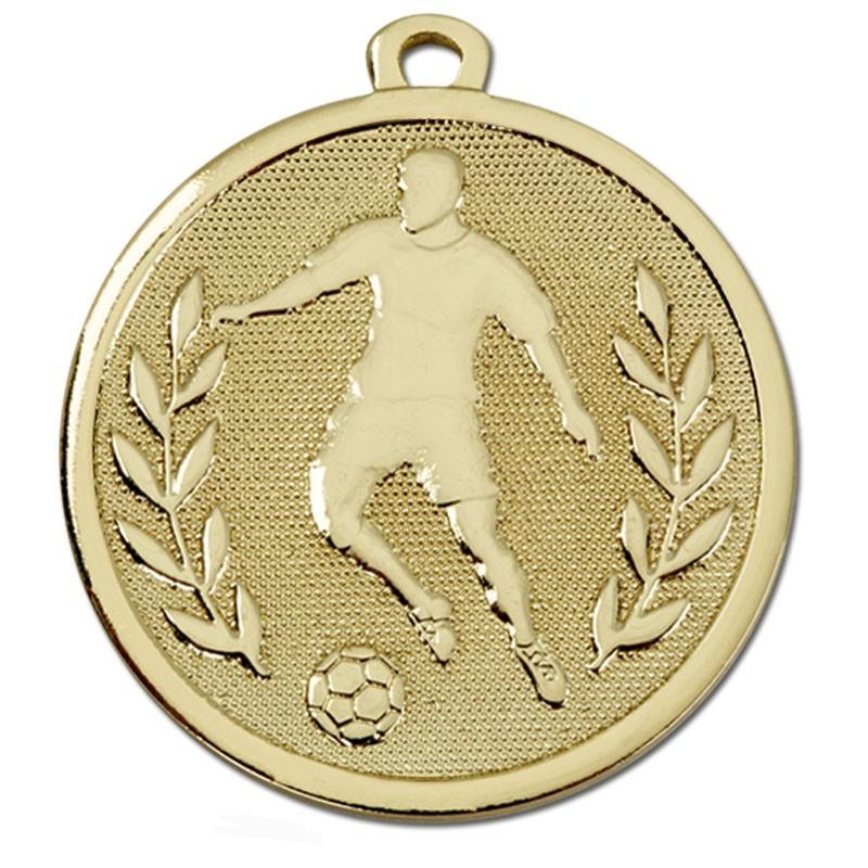 4.5cm Galaxy Footballer Medal