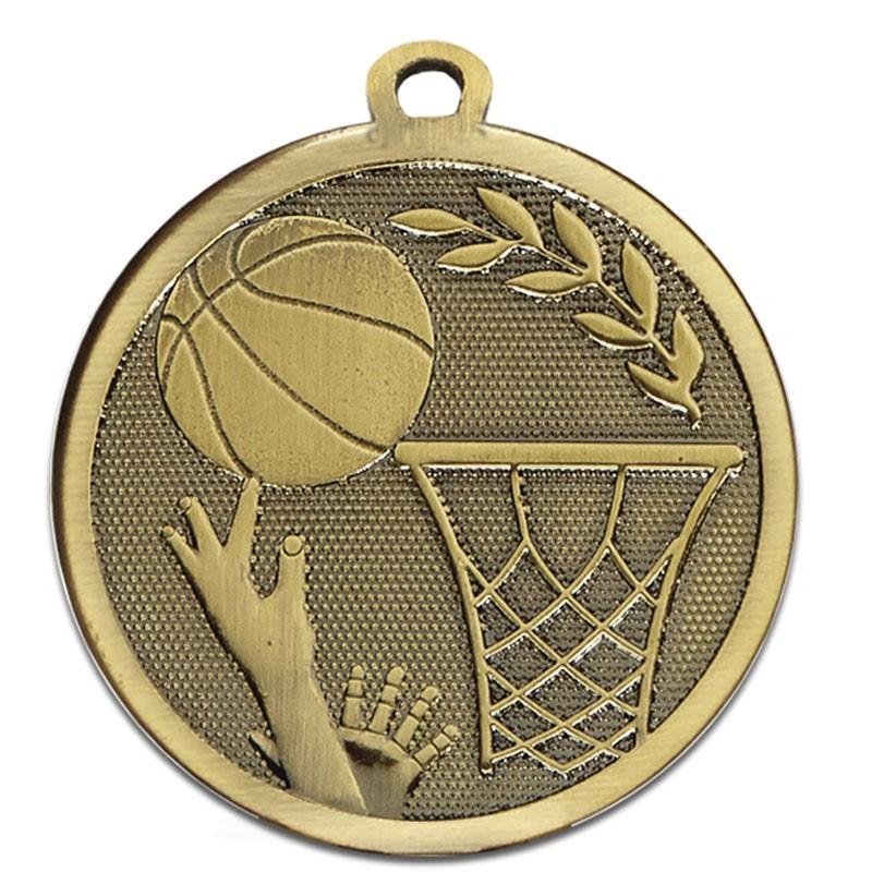 4.5cm Galaxy Basketball Medal