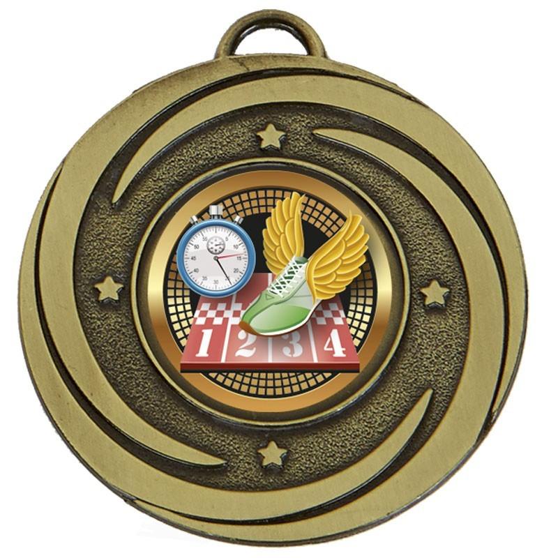 5cm Target Twirl Medal