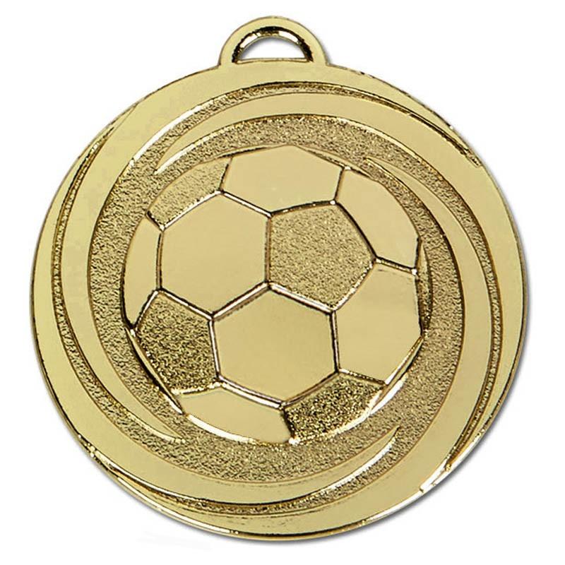 5cm Target Twirl Football Medal