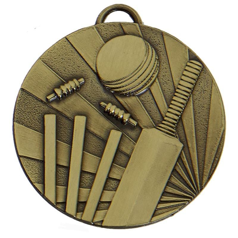 5cm Target Cricket Medal