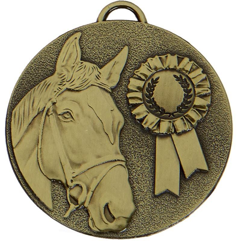5cm Target Horse Rosette Medal