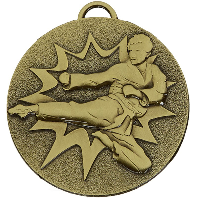 5cm Target Karate Medal