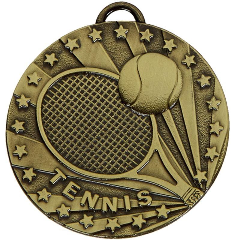 5cm Target Tennis Medal