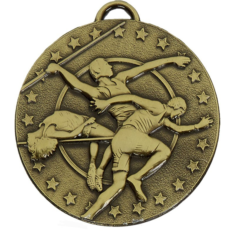 5cm Target Track & Field Medal