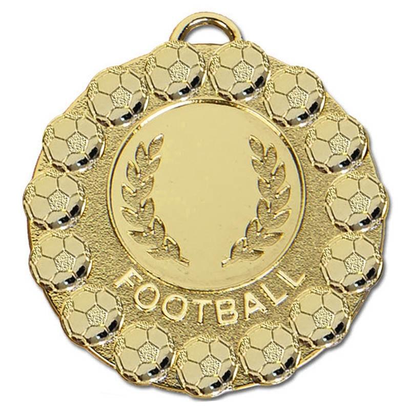 5cm Fiesta Football Medal