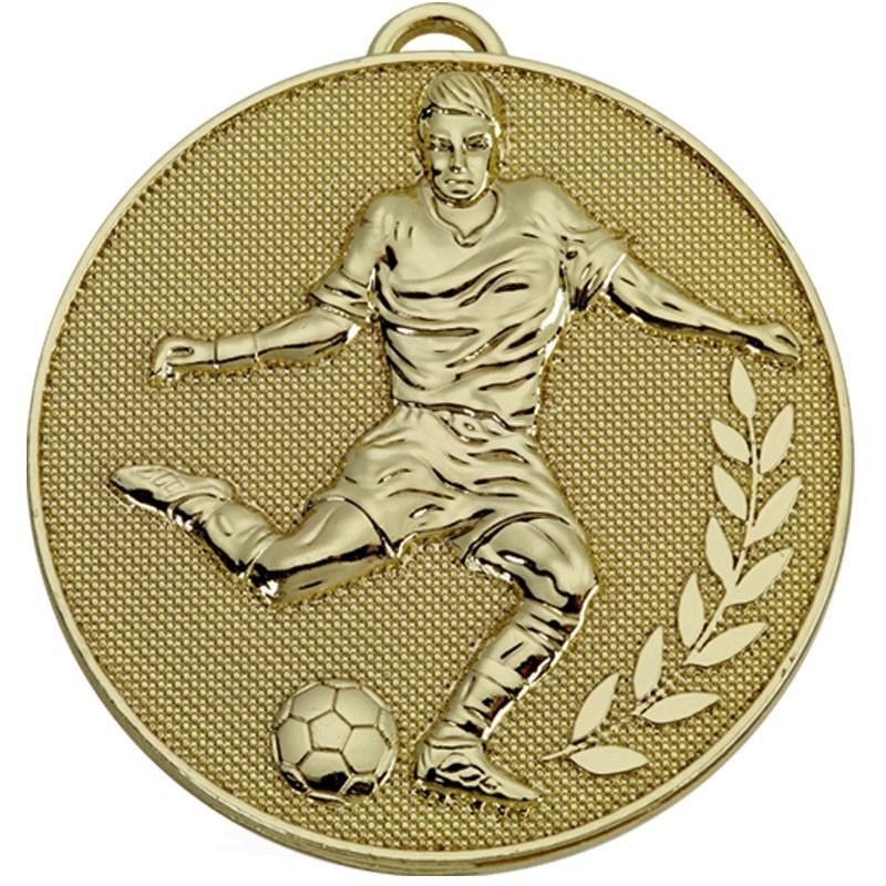 6cm Champion Football Medal