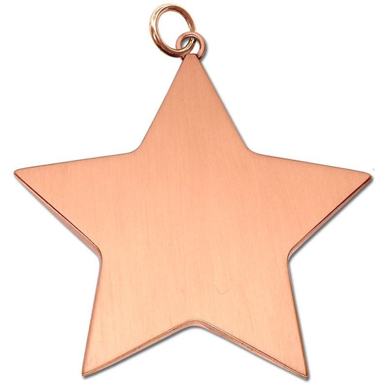 6.8cm Star Achievement68 Medal