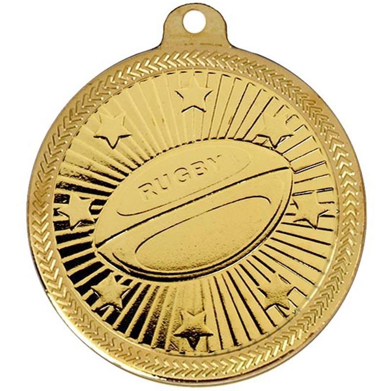 5cm  Rugby Medal