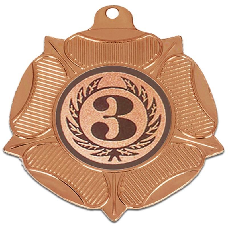 5cm  Tudor Rose Medal
