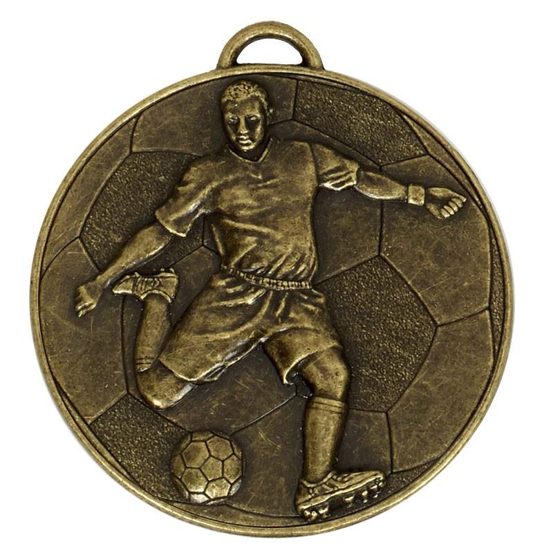 6cm Helix60 Footballer Medal