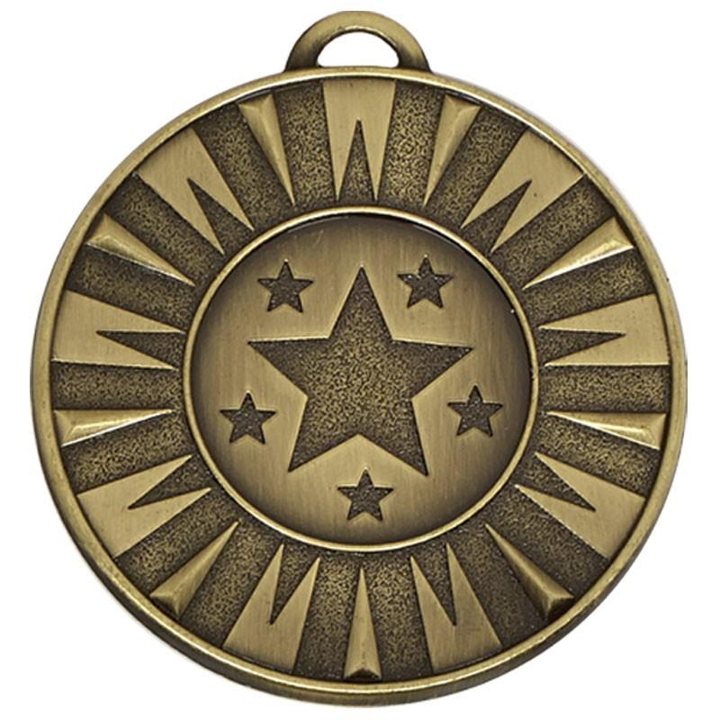 5cm Target Flash Medal