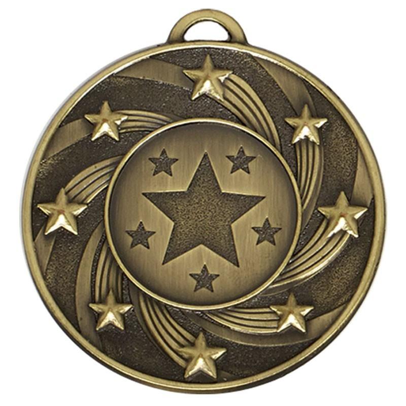 5cm Target Star Medal