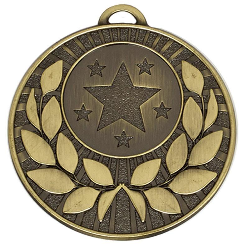 5cm Target Wreath Medal