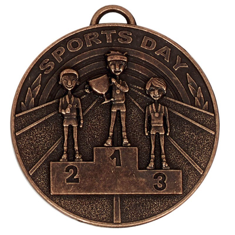 5cm Target Sports Day Medal