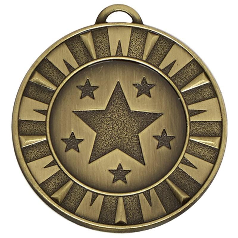 4cm Target40 Flash Medal