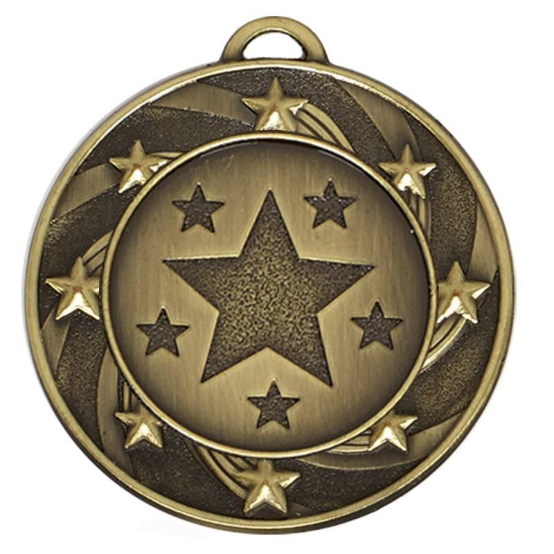 4cm Target40 Star Medal