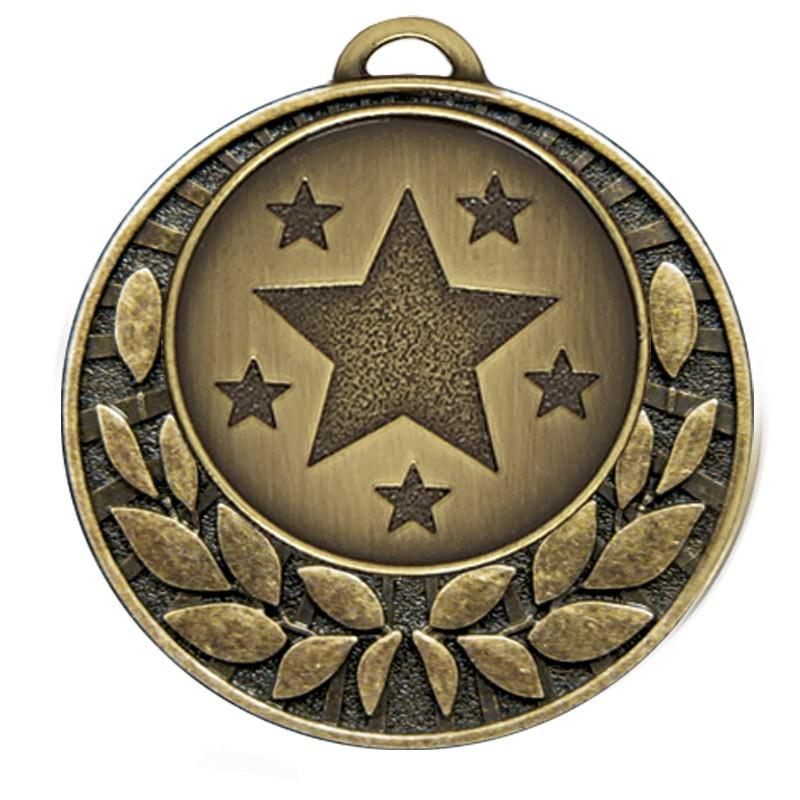 4cm Target40 Wreath Medal