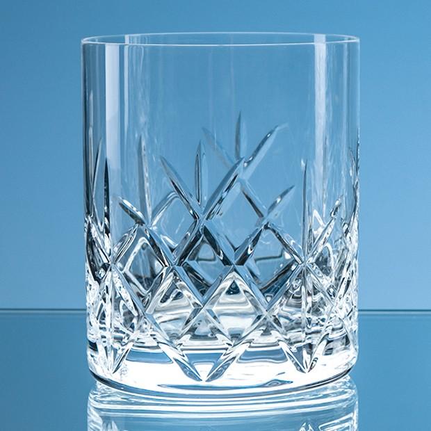 320ml Flamenco Crystalite Full Cut Whisky Tumbler