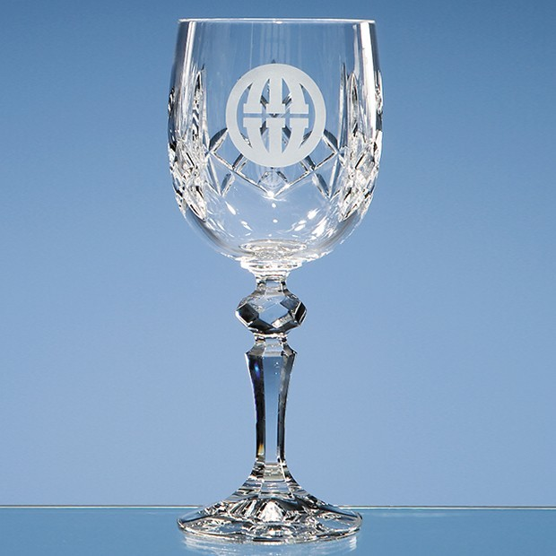 220ml Flamenco Crystalite Panel Goblet
