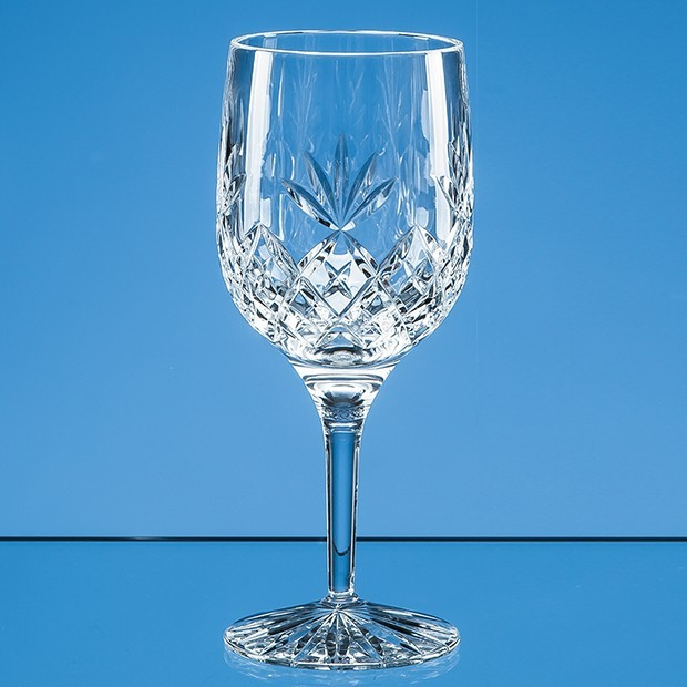 280ml Blenheim Lead Crystal Full Cut Goblet