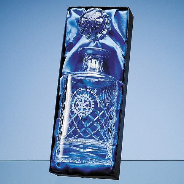 Spirit Decanter Satin Lined Presentation Box
