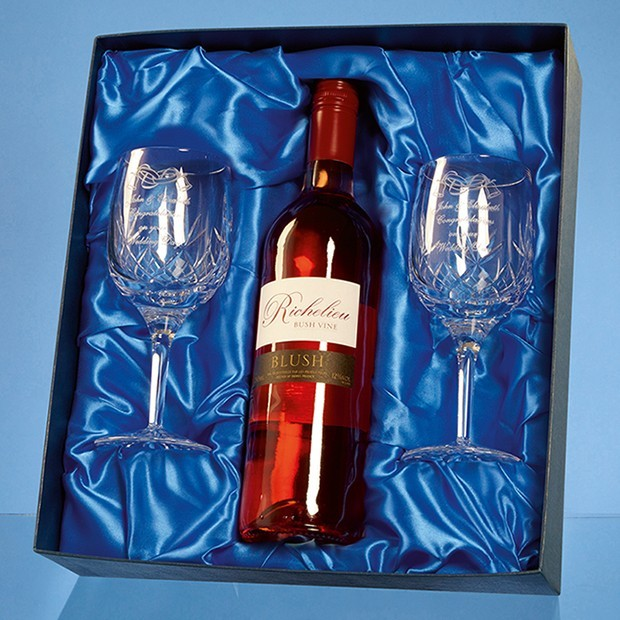 Wine Set Satin Lined Presentation Box