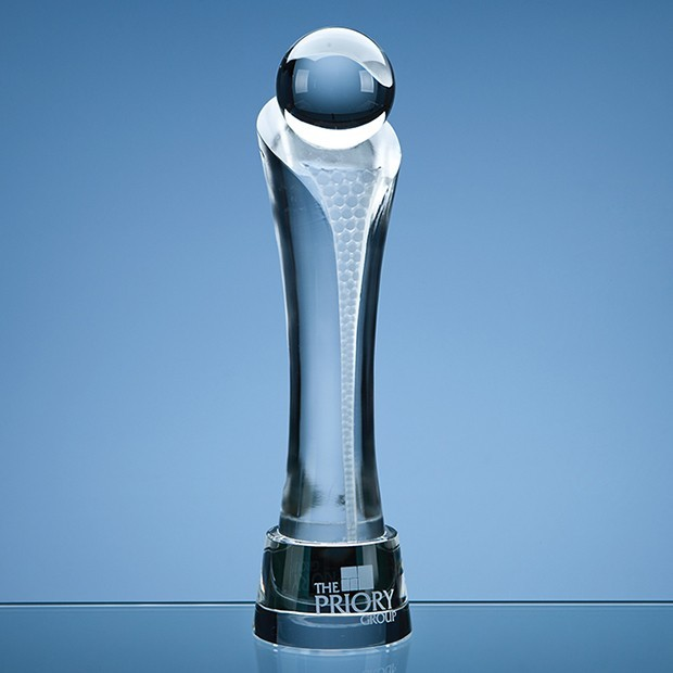 30cm Optical Crystal Eclipse Award