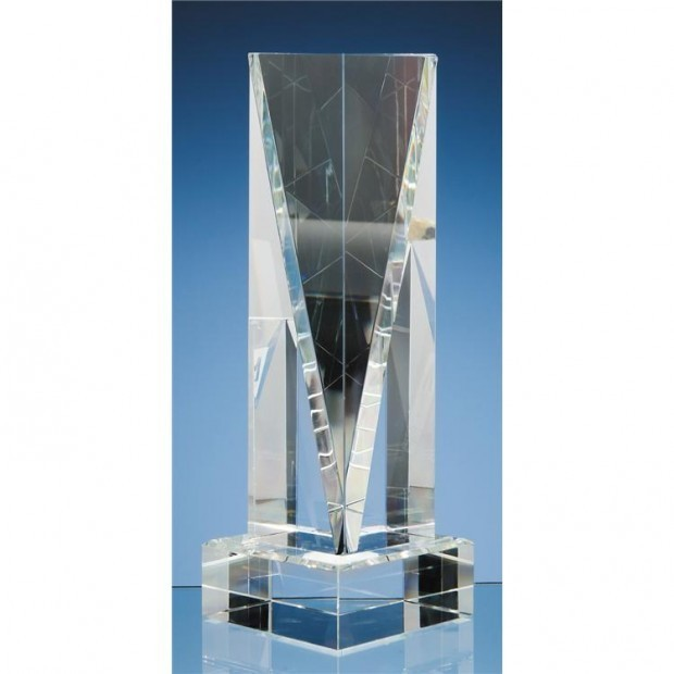 10cm x 10cm Optical Crystal Base (fits all 3 sizes)
