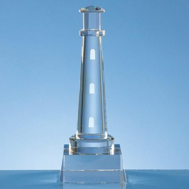 19cm Optical Crystal Lighthouse