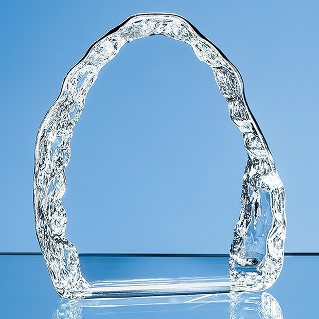 10cm Optical Crystal Vertical Ice Block