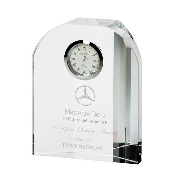 Prestige Crystal Clock 120mm