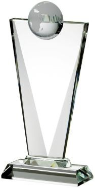 20cm Clear Globe Award