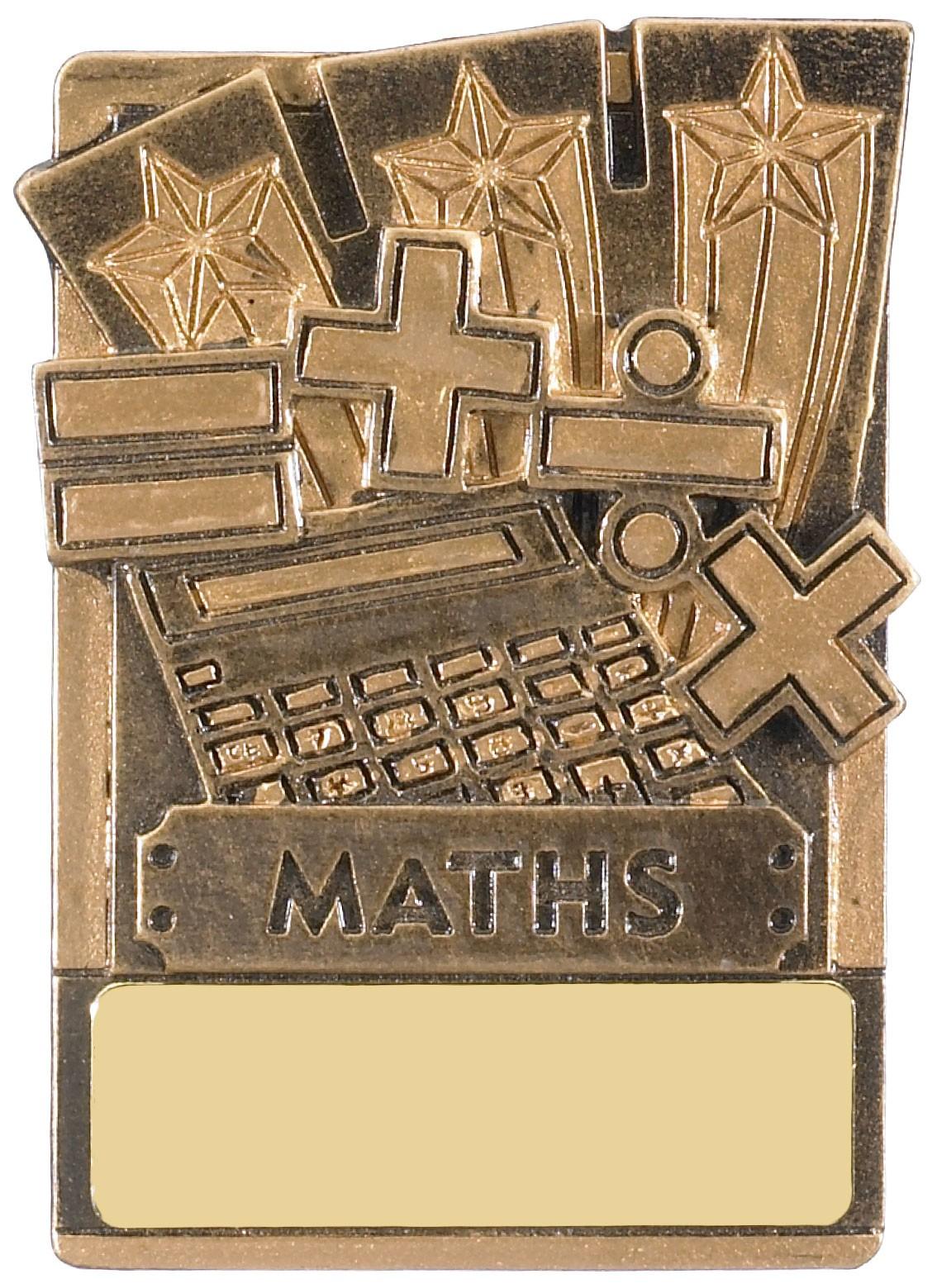Mini Magnetic Maths Award - 82mm