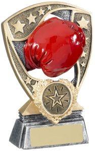 12cm Boxing Glove Shield Award