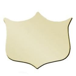 29mm Bevel Edged Gold Side Shield