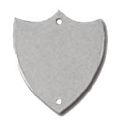 23mm Flat Silver Side Shield