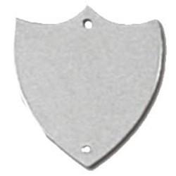 32mm Flat Silver Side Shield