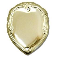 36mm Patterned Gold Side Shield