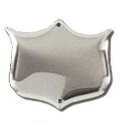 29mm Bevel Edged Silver Side Shield