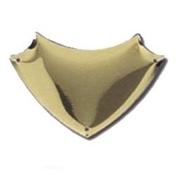 38mm Bevel Edged Gold Side Shield
