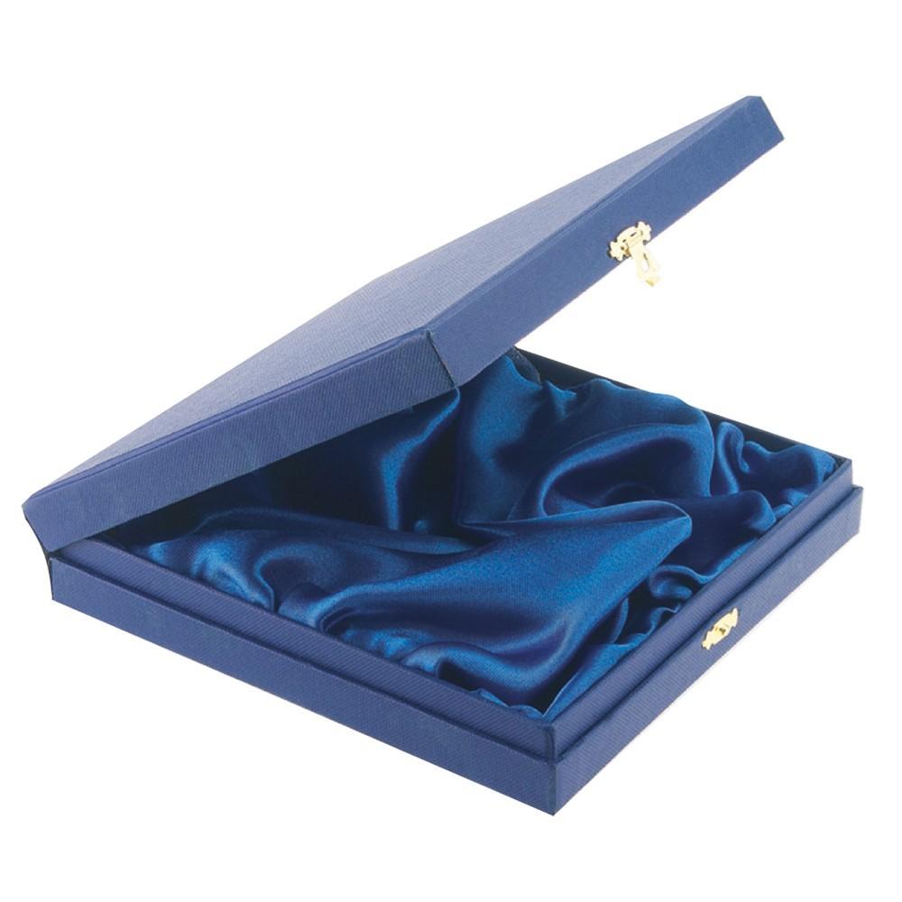 Blue Salver Presentation Box for 4in Salver