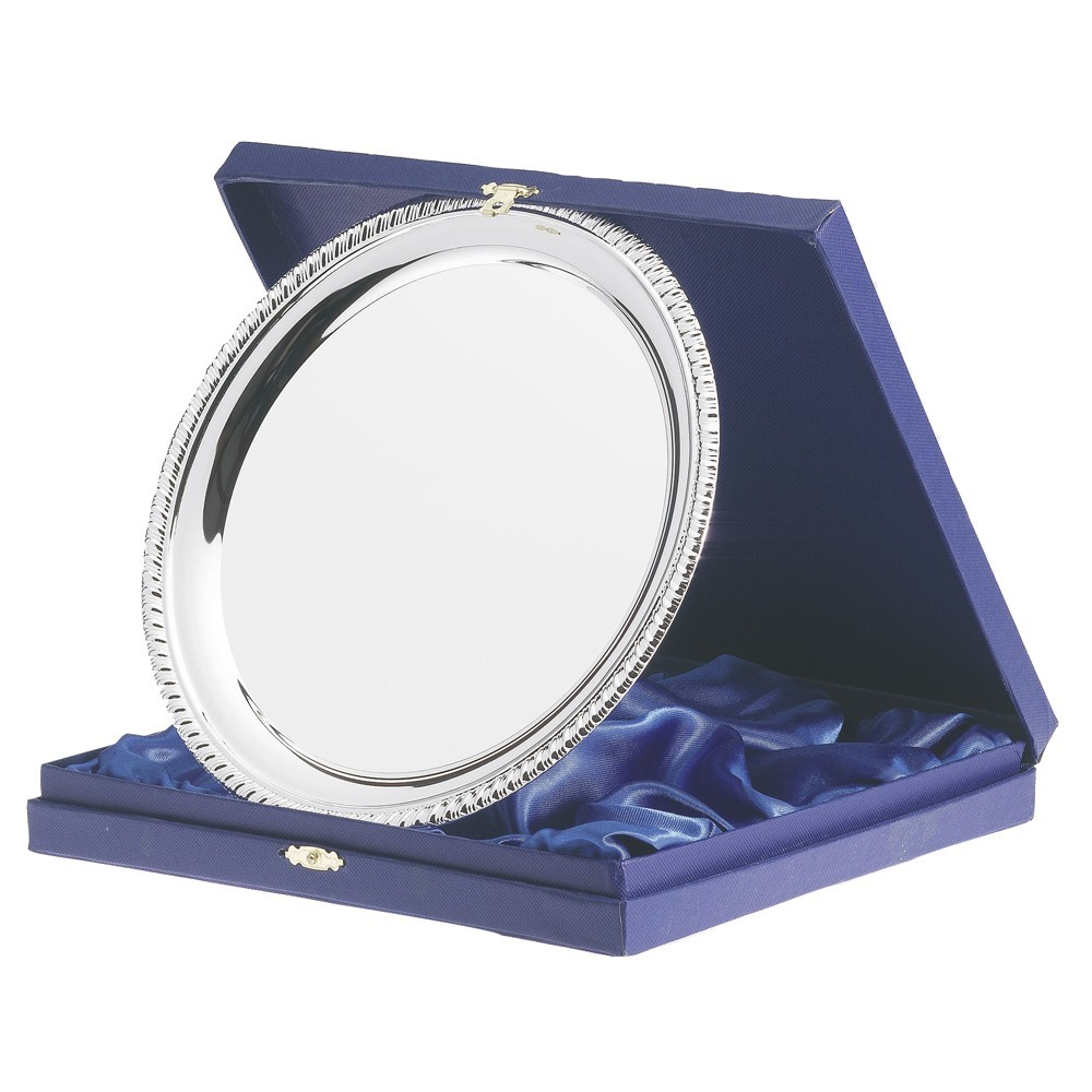 Blue Salver Presentation Box for 6in Salver