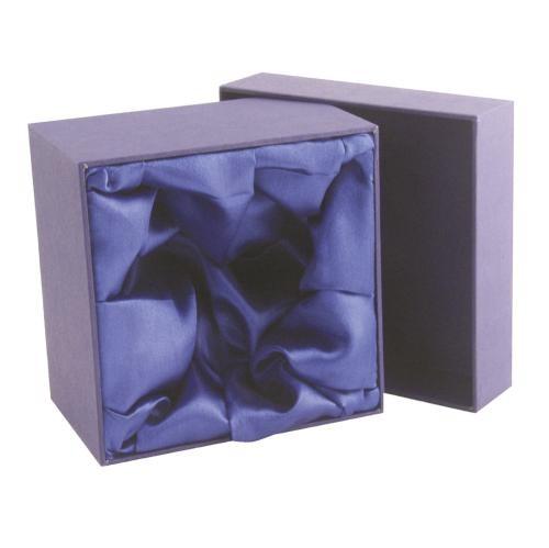 Luxury Blue Wine Glass Presentation Box