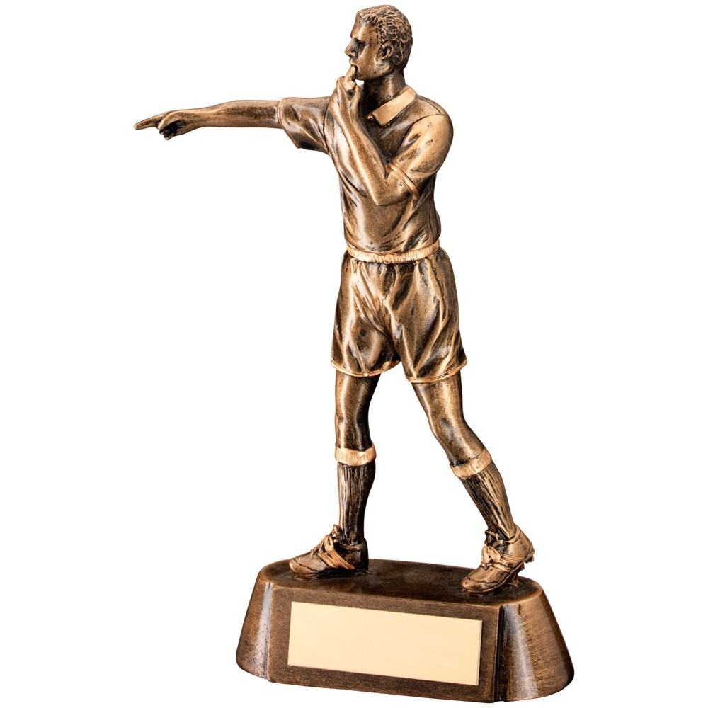 Robust Referee Figurine Resin Award - Available in 1 size
