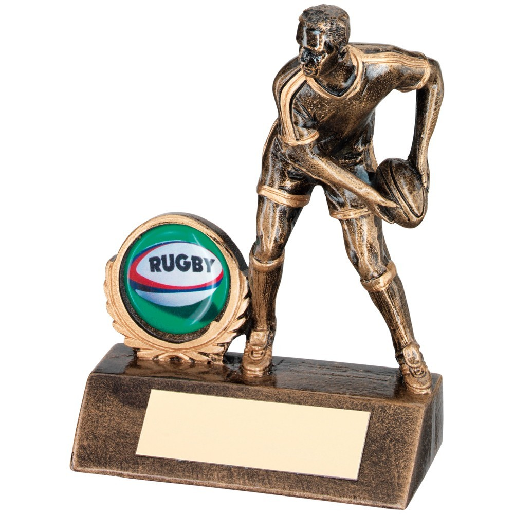 Outstanding Passing Player Rugby Resin Award - Available in 3 sizes