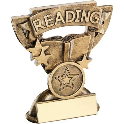 9.5cm Brz/Gold Reading Mini Cup Trophy